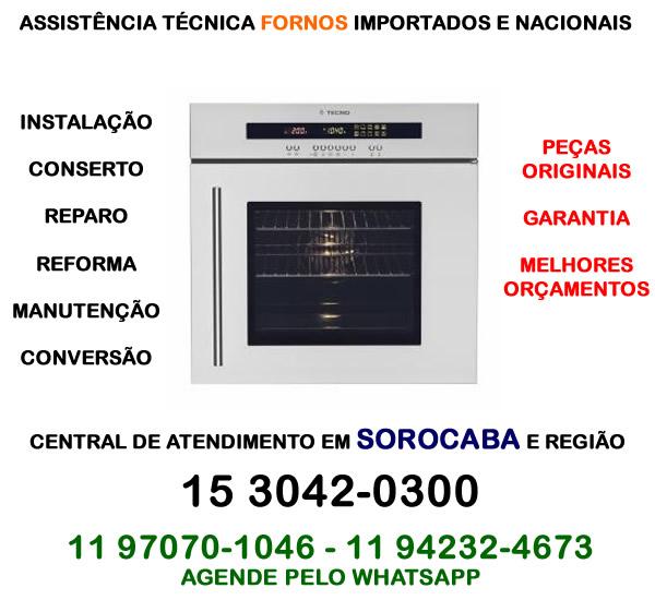 Assistência técnica forno Sorocaba