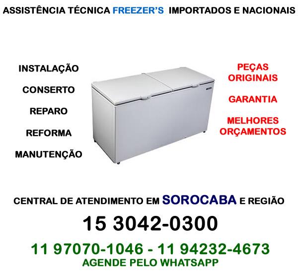 Assistência técnica freezer Sorocaba