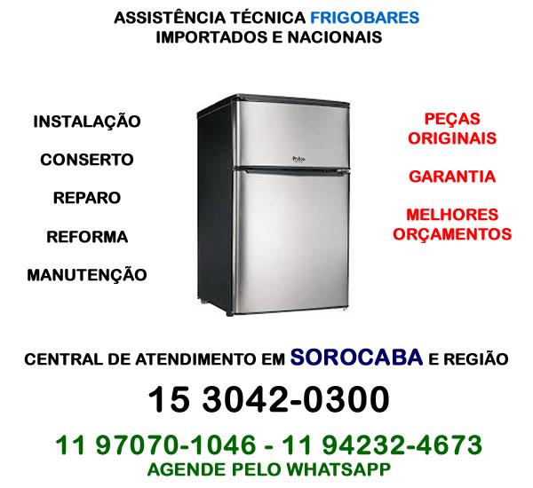 Assistência técnica frigobar Sorocaba