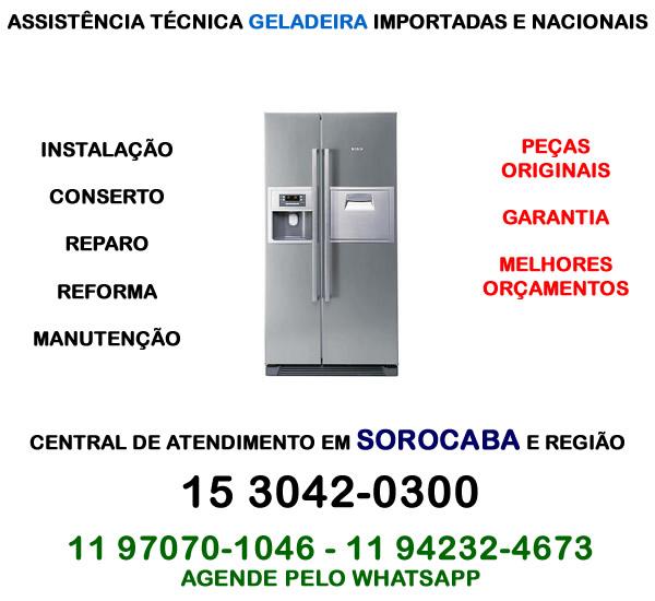 Assistência técnica geladeira Sorocaba