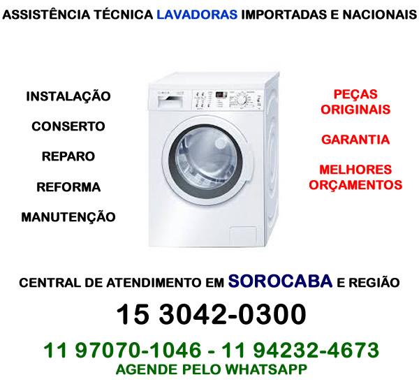 Assistência técnica lavadora Sorocaba