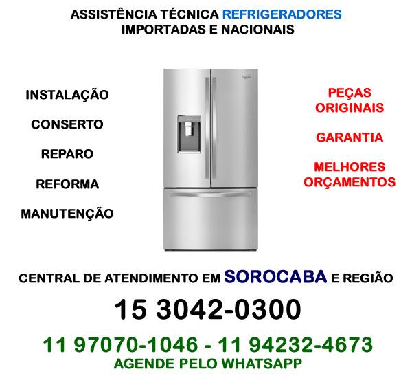 Assistência técnica refrigerador Sorocaba