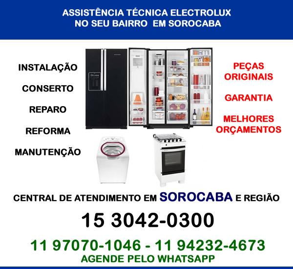 Assistência técnica Electrolux Sorocaba